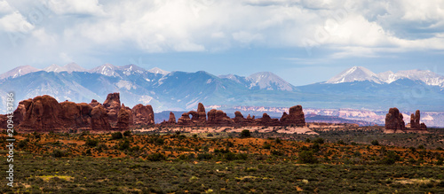 Arches panorama - 209433786