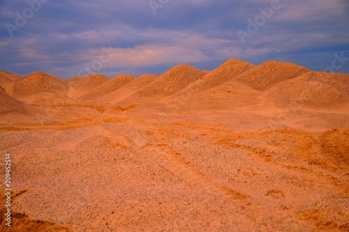 Aluminium Koraal пустыня