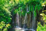 plitvice lakes waterfall landscape