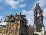Houses of Parliament conservation works in London - 209453902