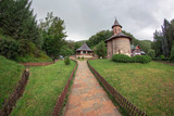 Inside the area dedicated to the Prislop Monastery, Romania - 209464316