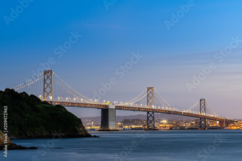 Plakat Bay Bridge San Francisco