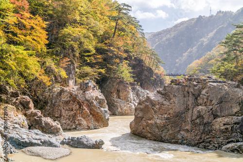 Ryuyo Gorge canyon Nikko Japan