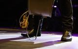 Singer feet in a concert - 209477352