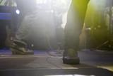 Singer feet in a concert - 209478385