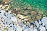 The stone coast of the Mediterranean Sea - 209481734