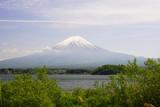 mount fuji at kawaguchiko lake.