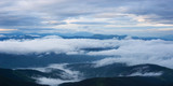 Landscape with fog in the mountains - 209491573