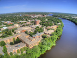 St. Cloud University is a College on the Mississippi River in Central Minnesota - 209513728