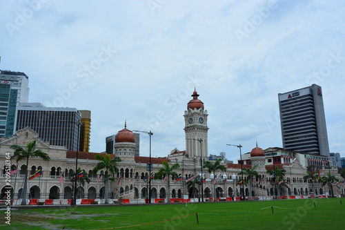 Fotobehang Kuala Lumpur マレーシアクアラルンプールのスルタンアブドゥルサマドビル