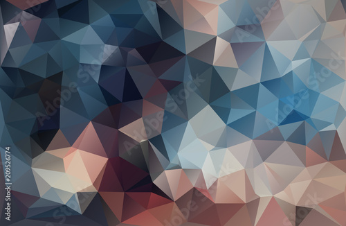 Fototapeta Abstract triangle background