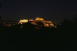 Athens Greece, Acropolis scenic night view