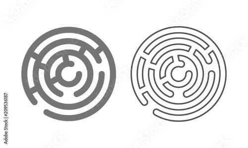 maze logo icon