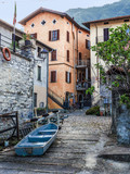 small village of fishermen of Lake como unchanged over time,Italy - 209538380