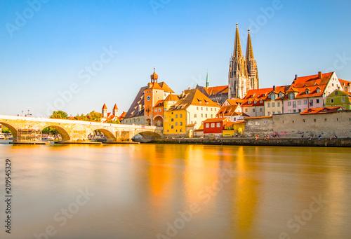 Fridge magnet Regensburg