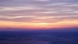 Scenic sunrise sun rising over sea surface, Greece Peloponnese, time lapse - 209547349