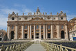 Roma, città del Vaticano, la basilica di San Pietro