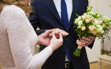 wedding, hands, rings