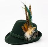 Traditonal german hat, Tyrolean hat - 209592189