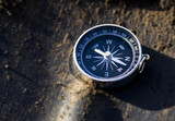 a compass that accurately shows the way home - 209595513
