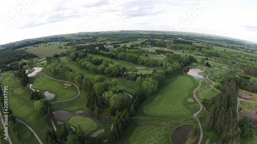 Foto Murales Golf Aerial
