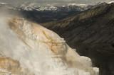 Mammoth Hot Springs;  Yellowstone NP;  Wyoming