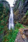 Risco Wasserfall - Wandern auf Madeira - Rabaçal