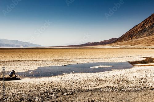 Fotobehang Beige Death Valley