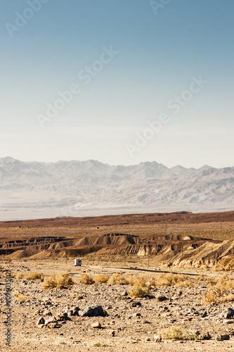 Fotobehang Route 66 Death Valley Wohnmobil Reise