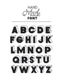hand made font alphabet vector illustration design - 209634784
