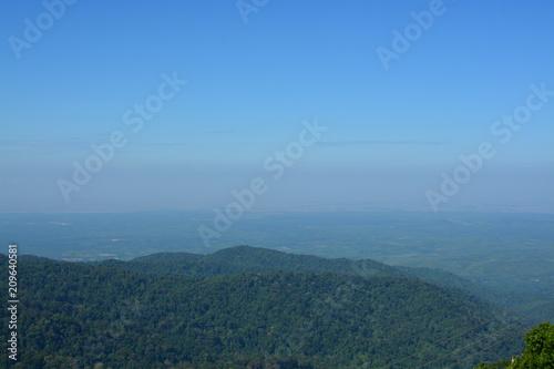 Fotobehang Groen blauw ミャンマーのチャイティーヨパゴダ