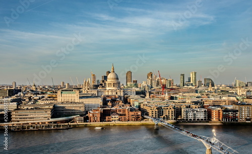 Fotobehang London London. Stunning St. Paul Cathedral