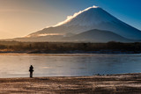 Mt.Fuji and the photographer