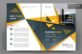 Abstract vector modern/ flyer design / brochure design template / annual report /book cover / corporate identity template /in an A4 page - 209693759