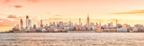 Beautiful sunset in New York City, United States - 209705974