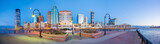 View from Hudson River Waterfront in Jersey City - 209706556