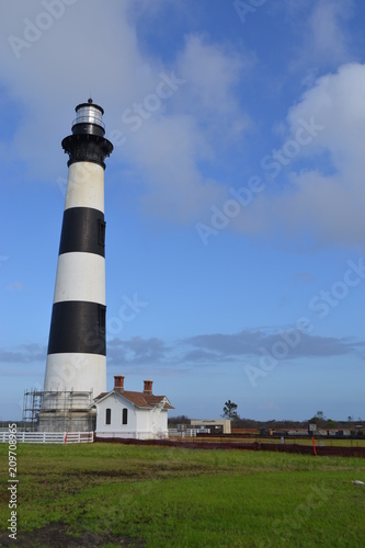 Foto Murales Bodie Island lighthouse in the Outer Banks of North Carolina