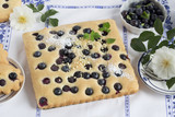 gluten free cake with blueberries - 209709733