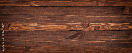 Grunge rich wood grain texture background with knots - 209713329