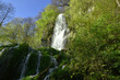 Leinwanddruck Bild - Uracher Wasserfall; Bad Urach; Deutschland; Schwaebische Alb;