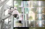 CCTV security camera in locations - 209725775