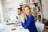 Succesful businesswoman CEO of company - 209739598