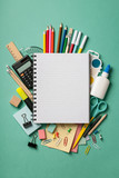 School supplies background - 209741399