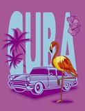 fondo de color de Cuba - 209751115