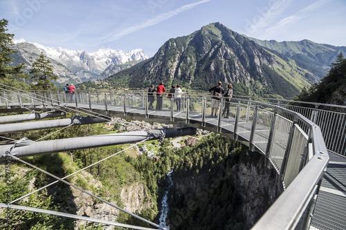 Foto Murales Panoramic Site Pres Saint Didier Aosta