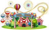 A Circus and Fun Fair - 209756375
