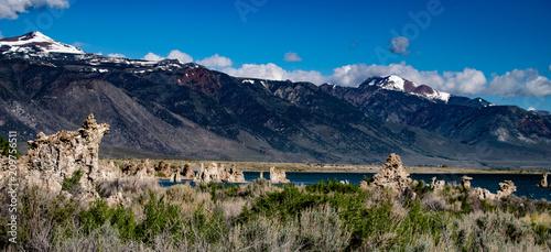 Sticker Mono Lake South Tufa, Owens Valley, Califonia