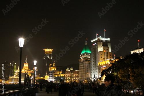 Plexiglas Shanghai shanghai by night