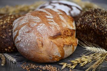 Getreide Brotlaib