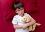 Naughty little boy won't go to sleep - 209771335
